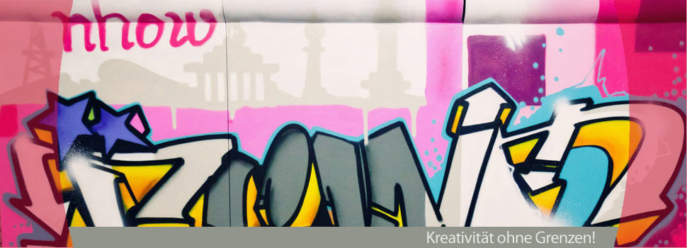 Graffiti Event, Graffiti Kunst, Graffiti teambuilding, graffiti mauer, graffiti Berlin, graffiti nhow